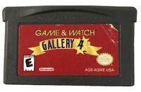 Game & Watch Gallery 4 (Nintendo Game Boy Advance, 2002) Cart Only Tested Works
