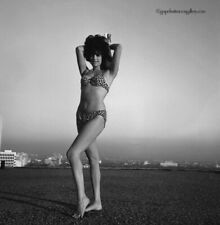 Bunny Yeager 1960s Black & White Camera Negative Mod Pin-up Babe In Los Angeles