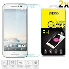 [2-Pack] KHAOS For HTC One S9 HD Tempered Glass Screen Protector 0.3mm