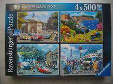 Ravensburger Puzzle 4 x 500 / 2000 Teile Happy Days No. 1 - Look North!