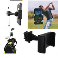 360 Degree Rotatable Golf Swing Recording Phone Holder Pull Cart Mount Clip for