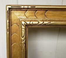 c1940 Excellent Newcomb Macklin Style Arts Crafts Gilded 22 x 30 Painting Frame