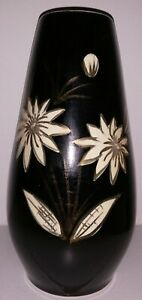 Keramik Vase/SCHEURICH/West Germany/No. 529 - 25/Mid Century/Vintage