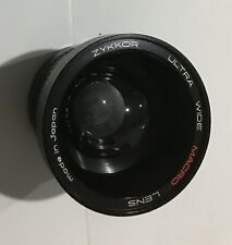 Zykkor Ultra Wide Macro with Close Up + 8 DT Lens in Case - Free Shipping