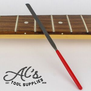 Fret End Dressing Finishing File Guitar Tool Luthier StewMac Crimson Style