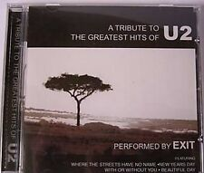 U2 ◄ A TRIBUTE TO THE GREATEST HITS - Performed By EXIT (17 TRACK CD ALBUM)