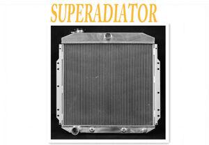 aluminum radiator fit for 1953-1956  Ford F100 pickup truck  L6 V8