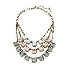 Chloe and Isabel Retro Glam Square-Cut 3 Layer Necklace - N227 - NEW, NICE!