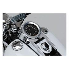 Tacho Zierring, Lünette, Silber, für Harley-Davidson Softail 84-17