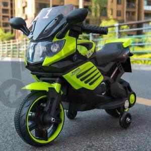 Kids Motorbike Ride On Motorcycle Toy Electric Scooter Bike 6V Battery Motocross