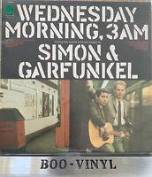 SIMON AND GARFUNKEL - WEDNESDAY MORNING, 3AM - CBS - S 63770 NM / EX