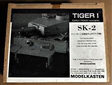 MODELKASTEN SK-2 - TIGER I EARLY TRACK - CINGOLI TRACKS - 1/35 PLASTIC KIT