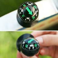 Mini Auto Car Dashboard Truck Suction Pocket Navigation Mount Ball Compass R3F8