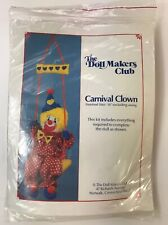 The Doll Makers Club 16� Stuffed Carnival Clown New Vintage