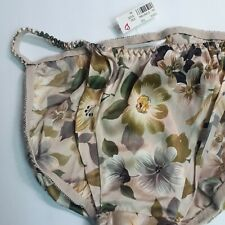 VTG Victoria's Secret String Bikini Panty, NWT, 100% Silk
