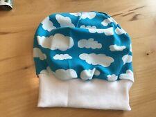 Handmade Babymütze Beanie Mütze Jersey  NEU KU.38-40-42