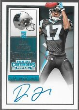 2015 Contenders Ticket Auto Rookie RC Devin Funchess 211 Panthers