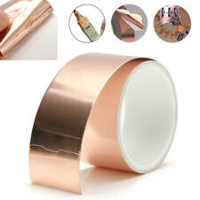 50mm x 3m EMI Copper Foil Shielding Tape Conductive Self Adhesive Barrier Guitar