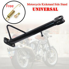 Universal Motorcycle Scooter Side Stand Leg Kickstand Supporter Aluminum Alloy