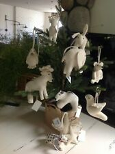 NEW Pottery Barn Restoration Hardware Wool Felt Ornament VARIETY dog, bear, etc