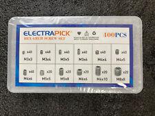 Electrapick  Hex Grub Screw Set 400pcs In Box With Hex / Alan Key