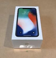 Apple X iPhonx 10 ten 256GB factory unlocked A1865 or A1901 ready to ship fast