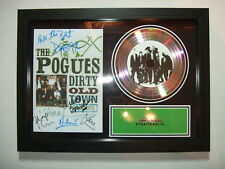 THE POGUES  - SIGNED  - GOLD DISC