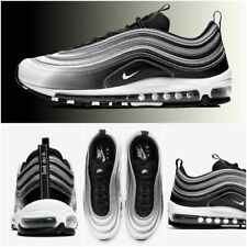$170 NIB NEW Men's Nike Air Max 97 Shoes Sneakers 921826-016 Black Silver White