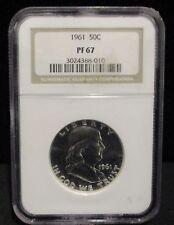 1961 Franklin Silver Half Dollar - NGC PF 67 - 010