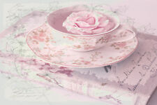 BEAUTIFUL SHABBY CHIC CANVAS PICTURE #16 STUNNING FLORAL HOME DECOR A1 CANVAS