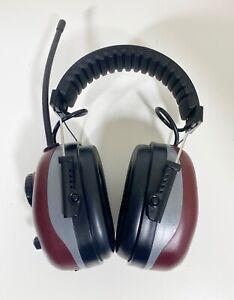 Elvex Quietunes Am/Fm Headphones Ear Muffs (TESTED / WORKS PERFECT)