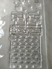 Docrafts Create Christmas Mini Clear Stamps - Santa Down The Chimney