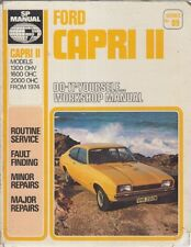 FORD CAPRI MK2 1300 OHV 1600 OHC 2000 OHC (1974-) OWNERS WORKSHOP MANUAL