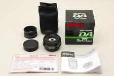 [ MINT ]  PENTAX SMC-PENTAX  DA  70mm  F/2.4 LTD  W/ BOX  F/S  from Japan  #7111