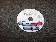 2006 Dodge Charger Shop Service Repair Manual DVD RT SRT8 2.7L 3.5L 5.7L V6 V8