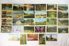 Collection Of Vintage Linen Postcards – 29 Total – Nice Variety – All Original