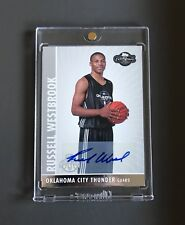 RUSSELL WESTBROOK TOPPS CO-SIGNERS 2008-09 ROOKIE AUTO CARD