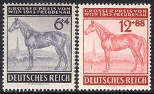 German Nazi Rare Stamps WWII WW2  Third Reich -  Vienna Grand Prix 1943 -- MNH