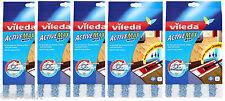 5 x VILEDA attiva MAX Mocio in Piatto Pad RICARICA RICARICHE - 5 x 143052 Activemax