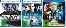 3 Blu-rays * STAR TREK -  KINOFILME 11 + 12 + 13 IM SET - Chris Pine # NEU OVP +