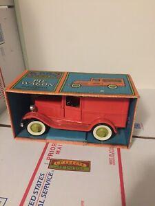 Buddy l ol' buddys pie wagon pressed steel toy with box