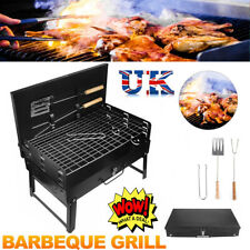 More details for portable bbq barbecue grill fire pit camping charcoal patio party garden outdoor
