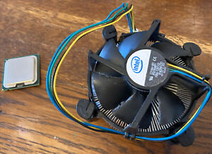 Intel Core 2 Duo E6850 Cpu With HSF Heasink And Fan
