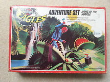 "AIRFIX V.RARE EAGLES ""JAWS OF THE JUNGLE"" ADVENTURE SET BOXED COMPLETE 1977"