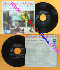 LP 45 7''MARIA CALLAS Trovatore La forza del destino GIUSEPPE VERDI no cd mc dvd
