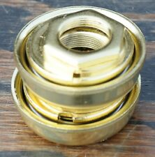 Gold 24 tpi 1 Piece Crank BOTTOM BRACKET Cruiser Bicycle BMX Vintage Tank Bike