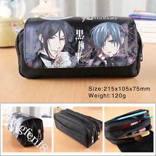 Anime Black Butler Federtasche Federmappe Kosmetiktasche Pencil Case Bag
