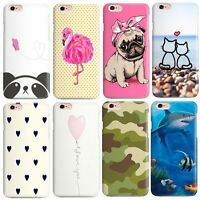 COVER CUSTODIA per IPHONE 5s SE 6s 7 / PLUS ORIGINALE STAMPA FANTASIA SERIES 1