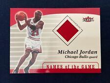 "Michael Jordan 2006-07' Fleer ""Missing Links"" SP Authentic Game Used Patch #ML-2"