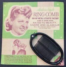 Accessoires vintage noir en plastique